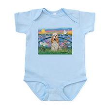 Lilies /Cocker Spaniel Infant Bodysuit