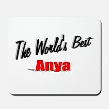 """The World's Best Anya"" Mousepad"