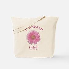 Daisy Flower Girl Tote Bag