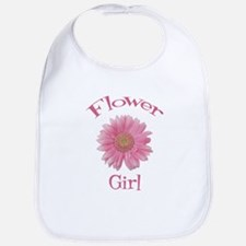 Daisy Flower Girl Bib