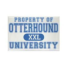 Otterhound University Rectangle Magnet (100 pack)