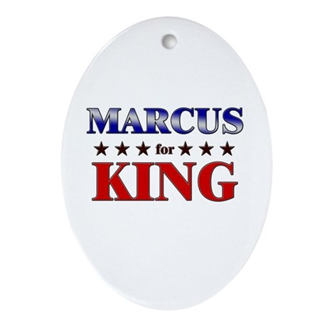MARCUS for king Oval Ornament