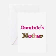 Dominic's Mother Greeting Card
