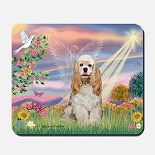 Cloud Angel/Cocker Spanie Mousepad