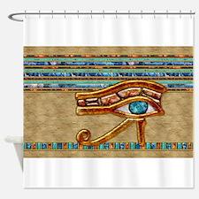 Harvest Moons Eye of Horus Shower Curtain