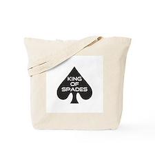 Spades King Tote Bag