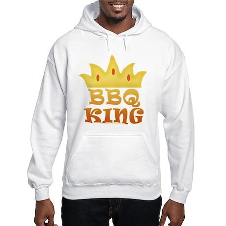 BBQ King Design Hooded Sweatshirt