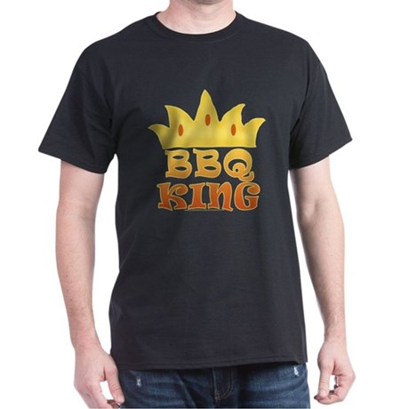BBQ King Design Dark T-Shirt