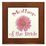 Daisy Mother of the Bride Framed Tile