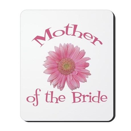 Daisy Mother of the Bride Mousepad