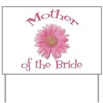 Daisy Mother of the Bride Yard Sign