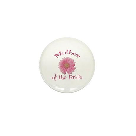 Daisy Mother of the Bride Mini Button
