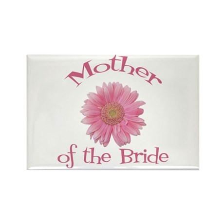 Daisy Mother of the Bride Rectangle Magnet