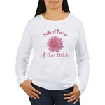 Daisy Mother of the Bride Women's Long Sleeve T-Sh