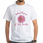 Daisy Mother of the Bride White T-Shirt