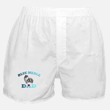 Blue Merle Sheltie Boxer Shorts