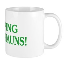 Funny Leaping Leprechauns Mug
