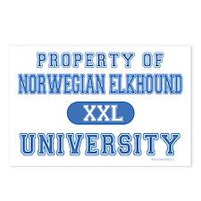 Norwegian Elkhound U Postcards (Package of 8)