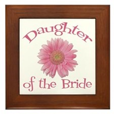 Daisy Bride's Daughter Framed Tile