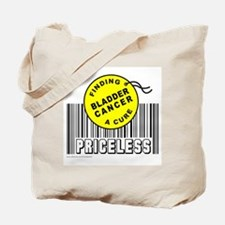 BLADDER CANCER FINDING A CURE Tote Bag