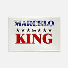 MARCELO for king Rectangle Magnet