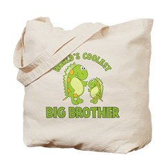 world's coolest big brother dinosaur Tote Bag