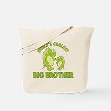 world's coolest big brother dinosaur Tote Bag