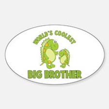 world's coolest big brother dinosaur Decal