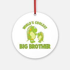 world's coolest big brother dinosaur Ornament (Rou