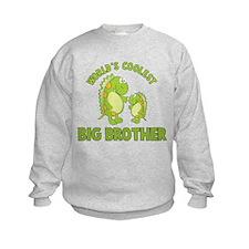 world's coolest big brother dinosaur Sweatshirt