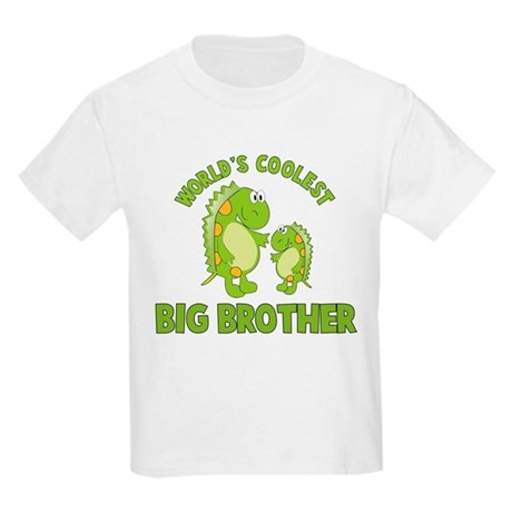 world's coolest big brother dinosaur Kids Light T-