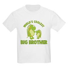 world's coolest big brother dinosaur T-Shirt