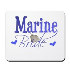 Marine Bride Mousepad