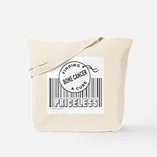 BONE CANCER FINDING A CURE Tote Bag