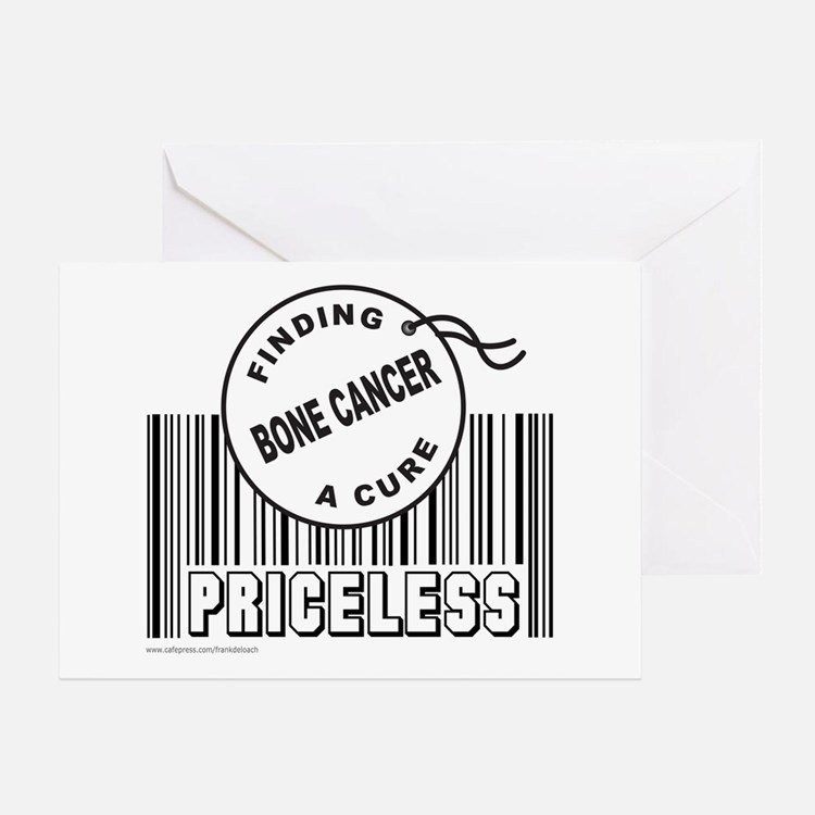 BONE CANCER FINDING A CURE Greeting Card