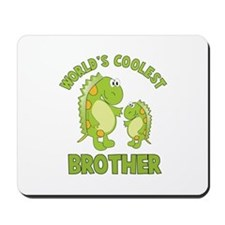 world's coolest brother dino Mousepad