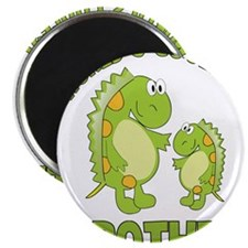 world's coolest brother dino Magnet