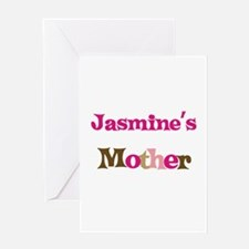 Jasmine's Mother Greeting Card
