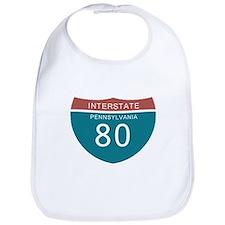 Interstate 80 PA T-shirts Bib