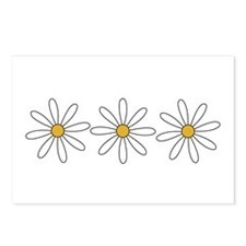 Funny Daisy Postcards (Package of 8)