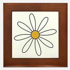 Cool Daisy Framed Tile