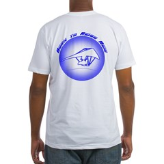 Hang Gliding Ridge Ride Blue Shirt