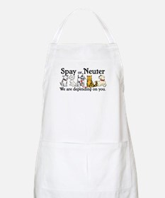 Spay or Neuter - Depending On You BBQ Apron