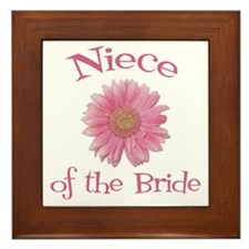 Daisy Bride's Niece Framed Tile