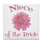 Daisy Bride's Niece Tile Coaster