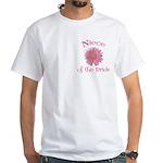 Daisy Bride's Niece White T-Shirt