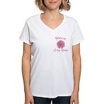 Daisy Bride's Niece Women's V-Neck T-Shirt