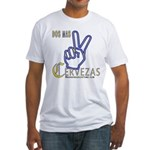 Cervezas Fitted T-Shirt