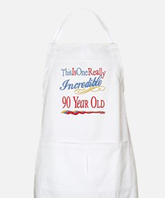 Incredible At 90 BBQ Apron