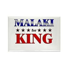MALAKI for king Rectangle Magnet